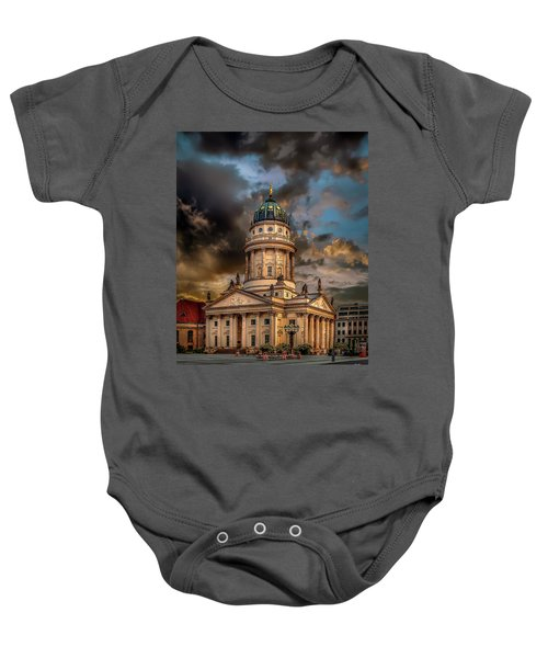 The French Church 3 Baby Onesie