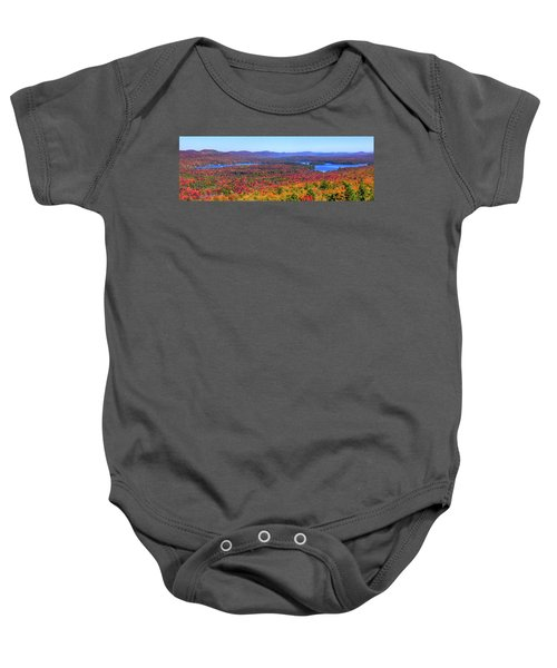 The Fulton Chain Of Lakes Baby Onesie