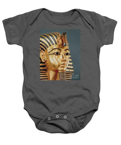 The Funerary Mask Of Tutankhamun Baby Onesie