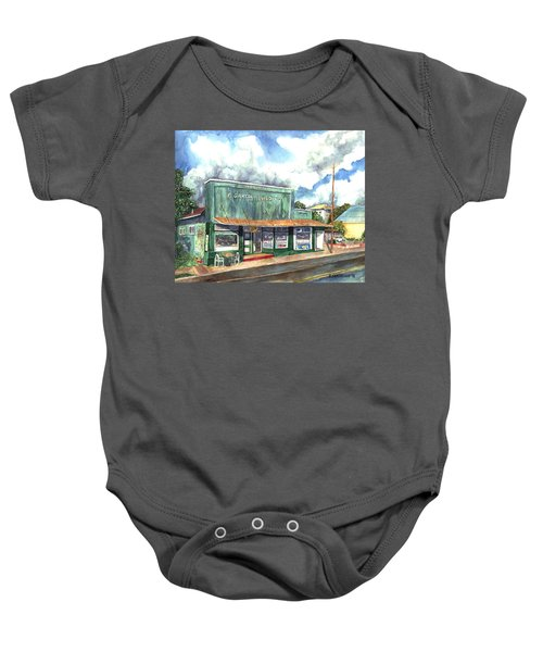 The Garcia Building Baby Onesie
