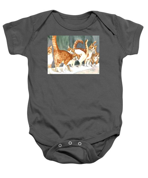 The Ginger Gang Baby Onesie