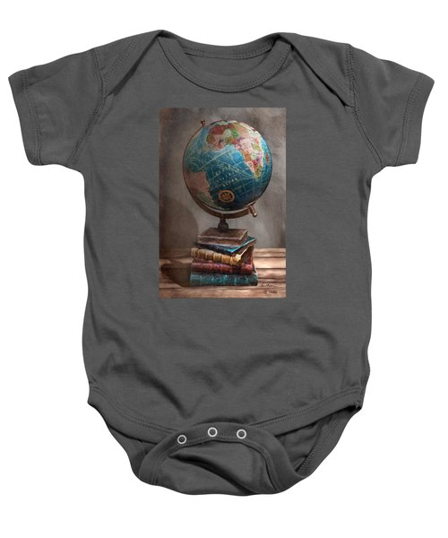 The Globe Baby Onesie