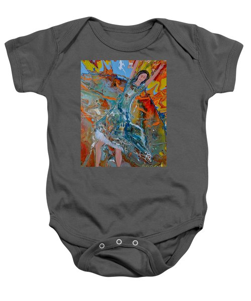 The Glory Of The Lord Baby Onesie