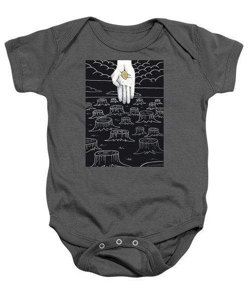 The God Who Restores Baby Onesie