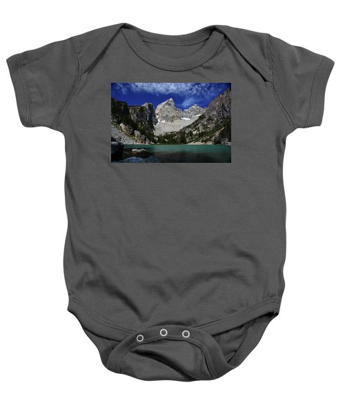 The Grand And Mount Owen From Delta Lake Baby Onesie