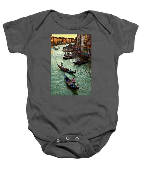 The Grand Canal Venice Baby Onesie