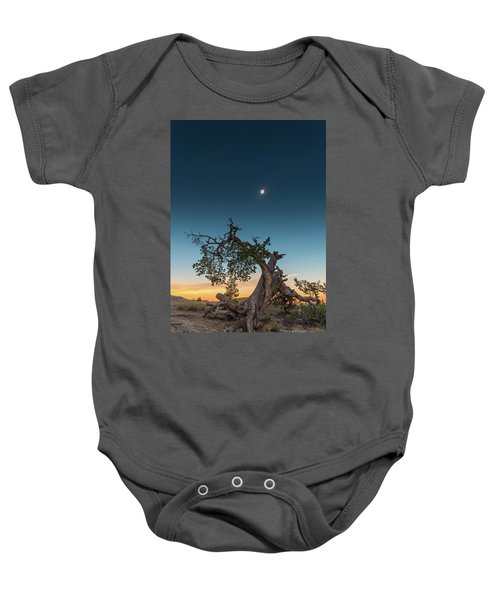 The Great American Eclipse On August 21 2017 Baby Onesie