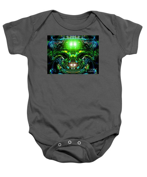 The Green Line Baby Onesie