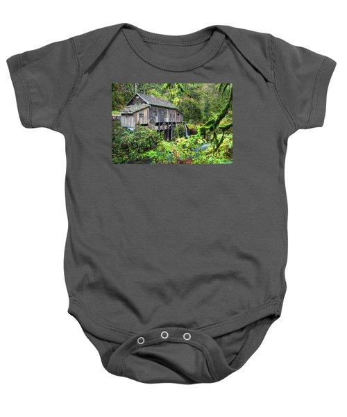 The Grist Mill, Amboy Washington Baby Onesie