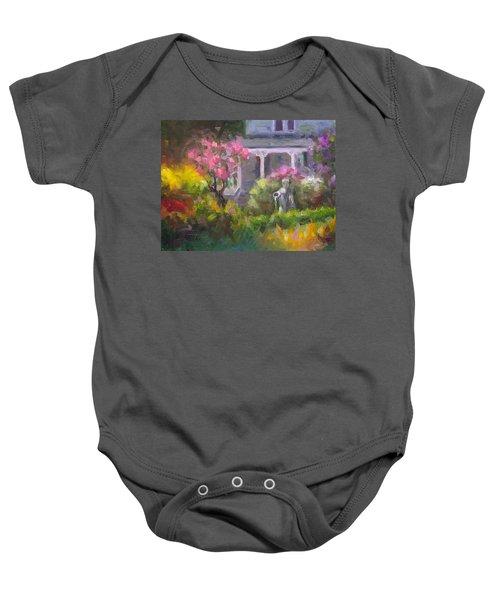 The Guardian - Plein Air Lilac Garden Baby Onesie