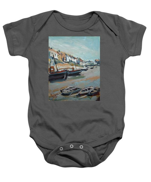 The Harbour Of Mevagissey Baby Onesie
