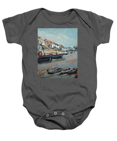 The Harbour Of Mevagissey Baby Onesie
