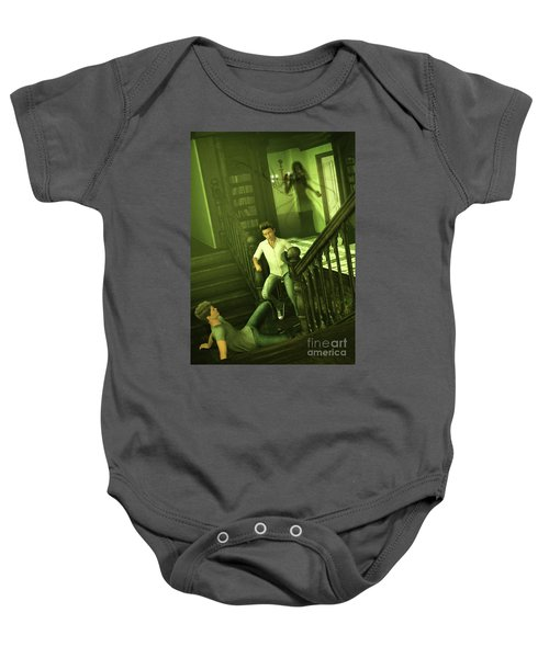 The Haunted Manor Baby Onesie
