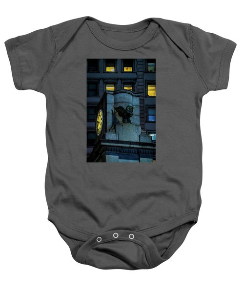 The Herald Square Owl Baby Onesie