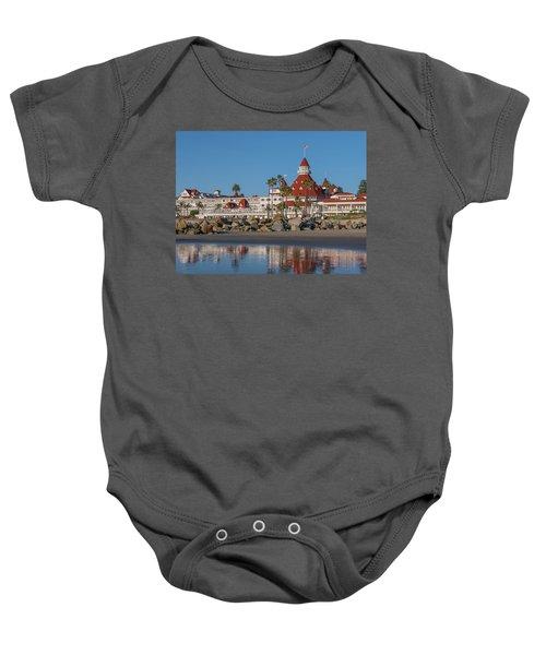 The Hotel Del Coronado Baby Onesie