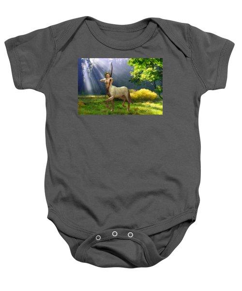 The Hunter Baby Onesie by John Edwards
