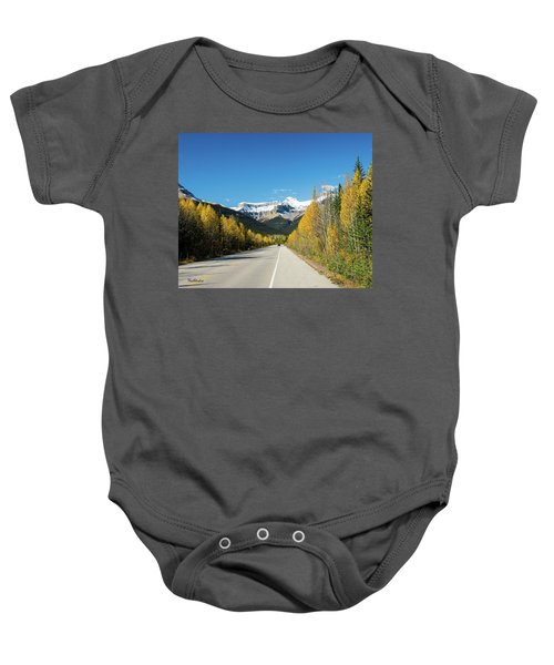 The Icefields Parkway Baby Onesie