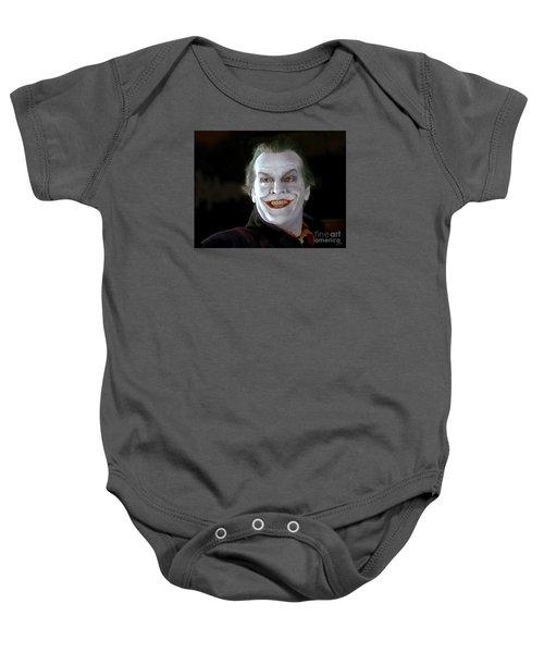 The Joker Baby Onesie by Paul Tagliamonte