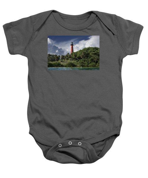 The Jupiter Inlet Lighthouse Baby Onesie