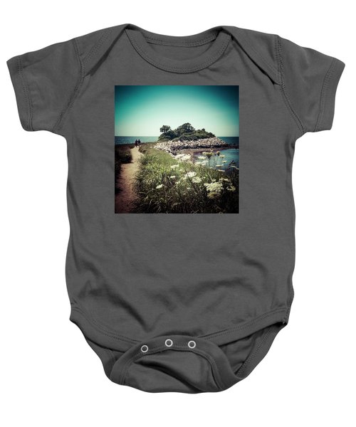 The Knob Looking Ahead Baby Onesie