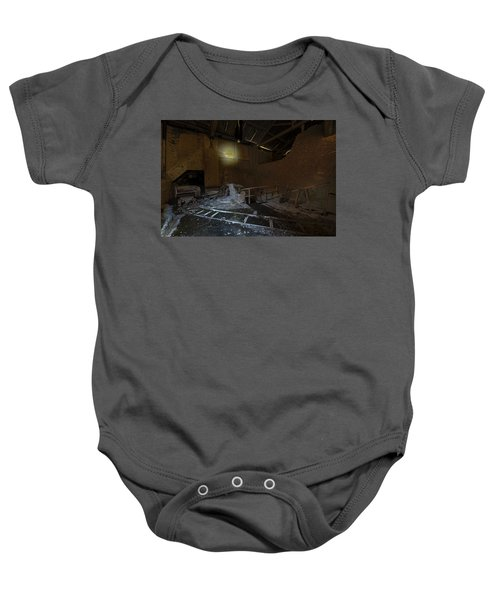 The Lamp Of The Abandoned Furnace Quarry  Baby Onesie