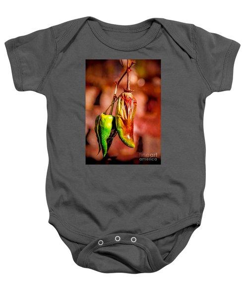 The Last Peppers Baby Onesie