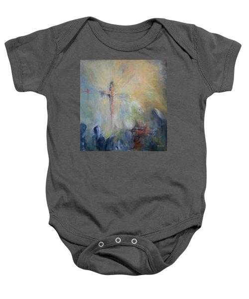 The Light Of Christ Baby Onesie