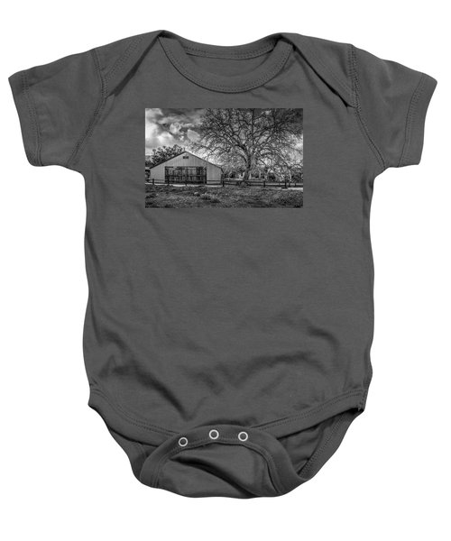 The Livery Stable And Oak Baby Onesie