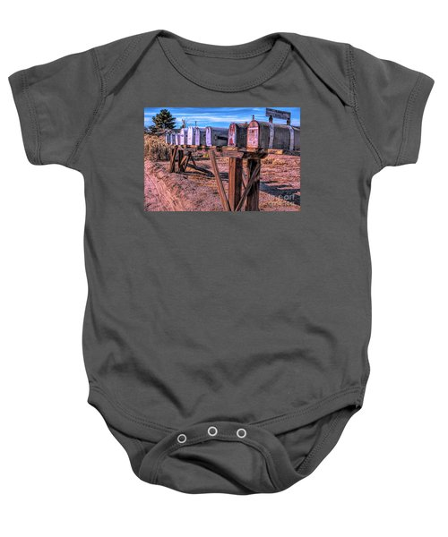 The Mailboxes Baby Onesie