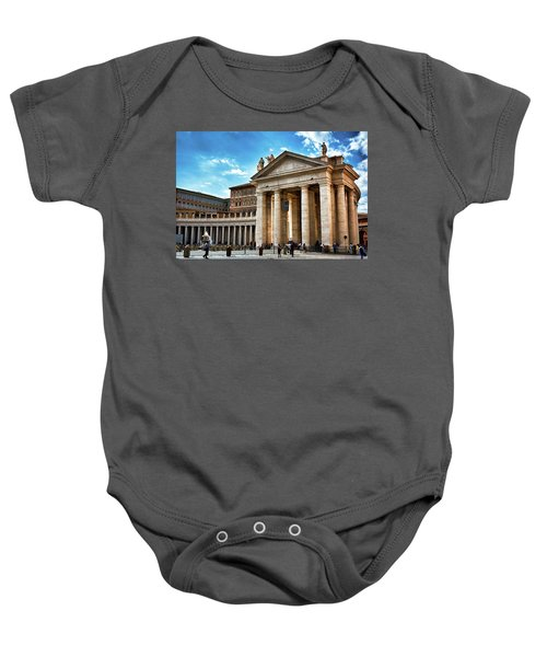 The Majesty Of The Tuscan Colonnades Baby Onesie