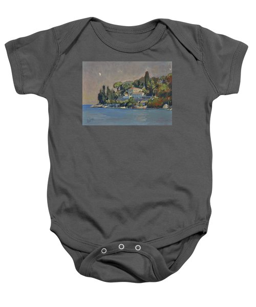 The Mansion House Paxos Baby Onesie