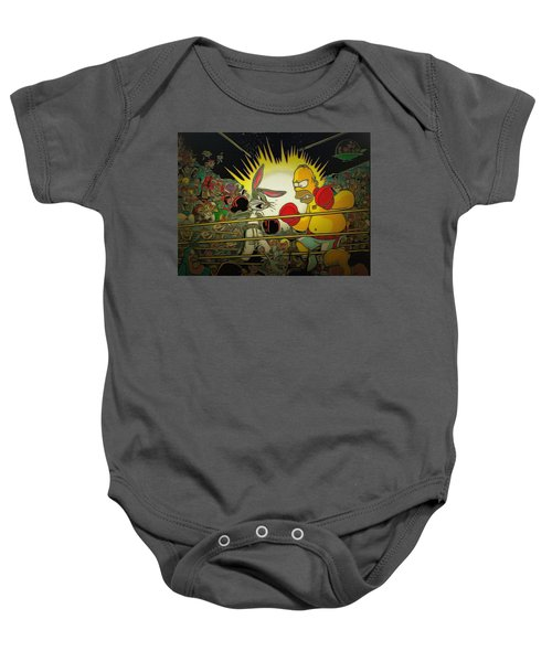The Match Of The Century Baby Onesie