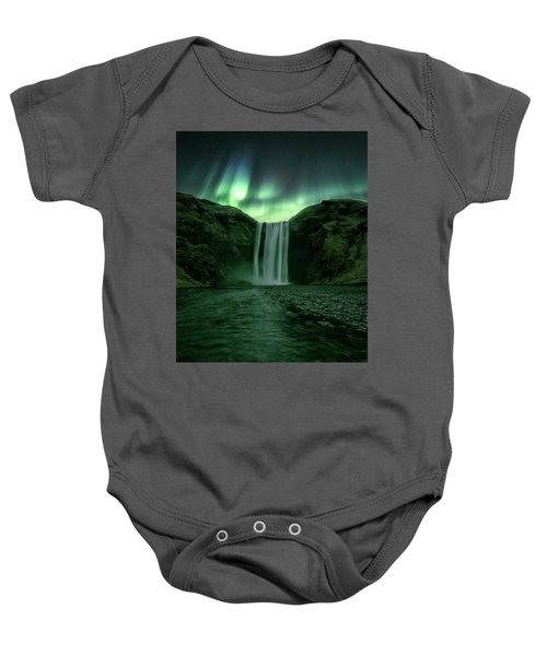 The Mighty Skogafoss Baby Onesie