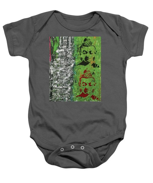 The Mind Is Everything Baby Onesie