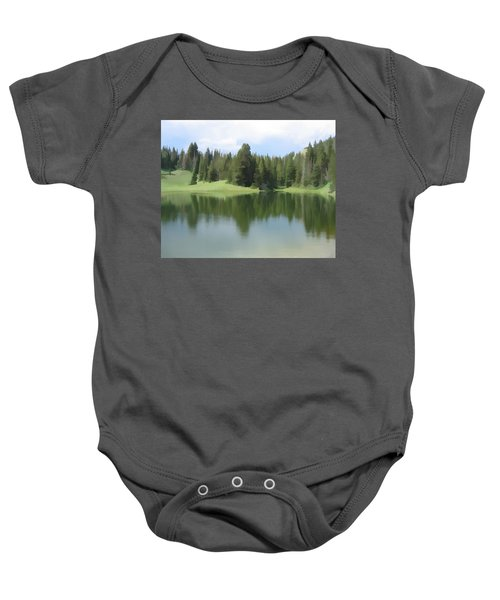 The Morning Calm Baby Onesie