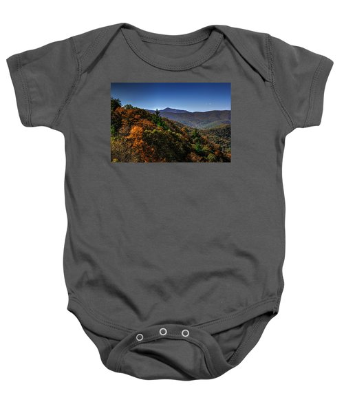 The Mountains Win Again Baby Onesie