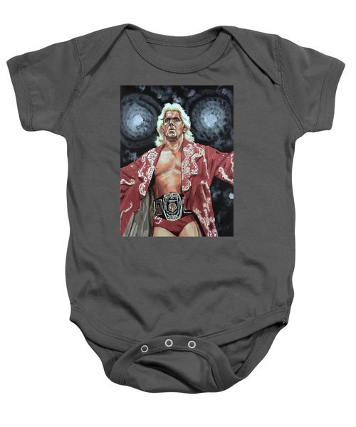 The Nature Boy Ric Flair Baby Onesie