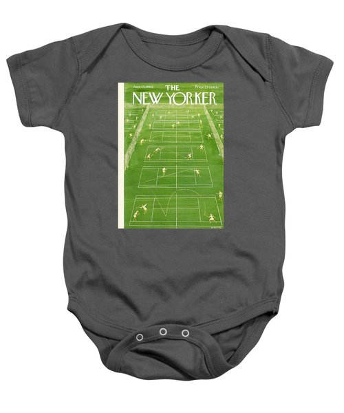 The New Yorker Cover - June 25th, 1960 Baby Onesie