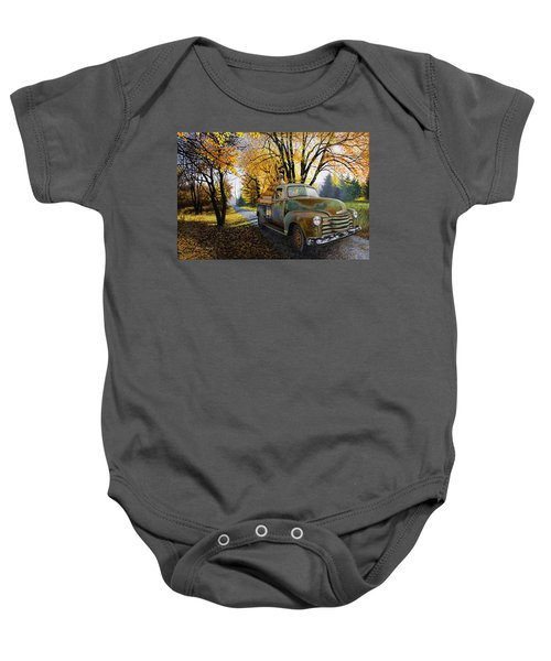 The Ol' Pumpkin Hauler Baby Onesie