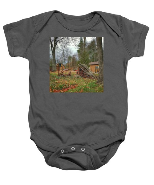 The Old Field Tools Baby Onesie