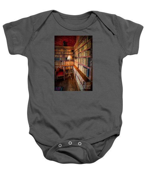 The Old Library Baby Onesie