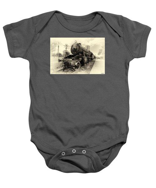 The Old Locomotive Baby Onesie