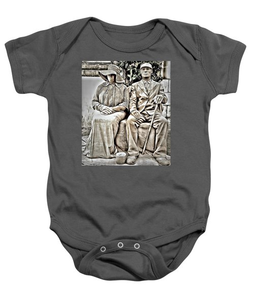 The Olders  Baby Onesie