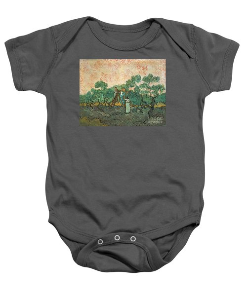 The Olive Pickers Baby Onesie