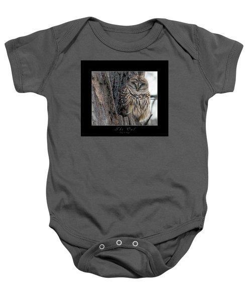 The Owl Baby Onesie