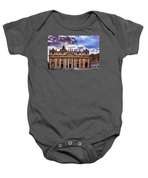 The Papal Basilica Of Saint Peter Baby Onesie