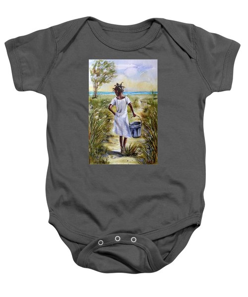 The Path To The Sea Baby Onesie