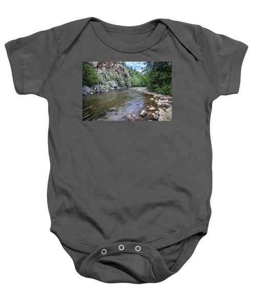 The Pecos River Baby Onesie