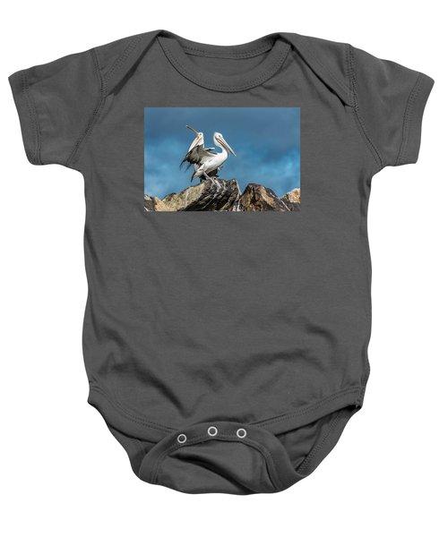 The Pelicans Baby Onesie