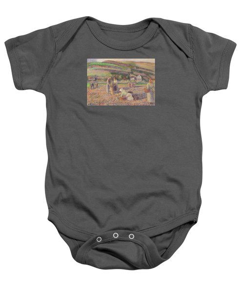 The Potato Harvest Baby Onesie